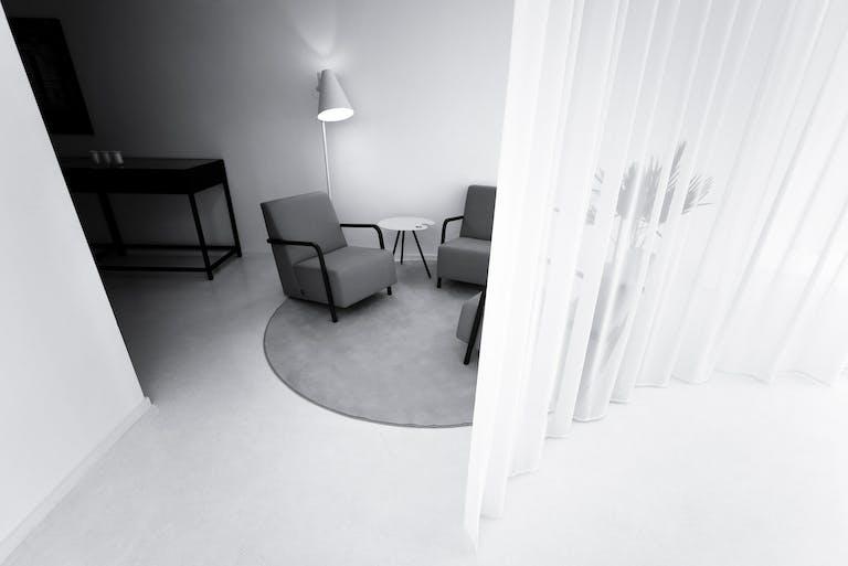 White Out Studio, sofas